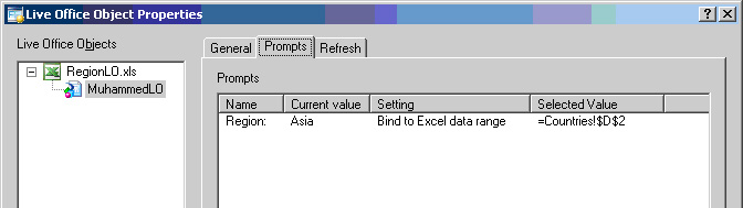 LiveOffice Xcelsius