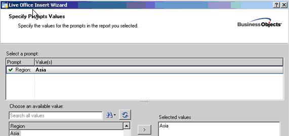 LiveOffice Xcelsius