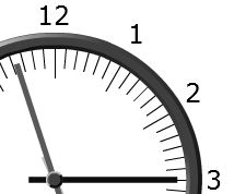 Xcelsius Analog Clock