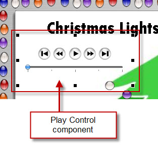 Adding the Play Control Component