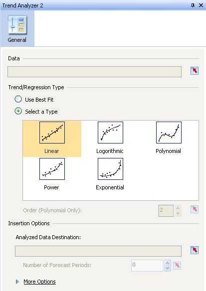 Trend Analyzer Properties